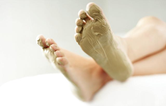 Маска для ног своими руками