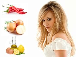 маска с фруктами для укрепления волос